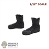Boots: CrazyFigure 1/12th Mens Black GSG9