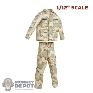 Uniform: CrazyFigure 1/12th Mens 3 Color Desert Uniform (Grimes)