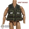 Vest: CrazyFigure 1/12th Mens M79 Grenade Vest w/Removable Grenade