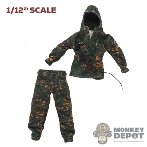 Uniform: CrazyFigure 1/12th Mens SS Summer Camouflage Uniform