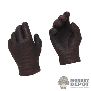 Hands: CM Toys Mens Brownish Molded Gloved Hands