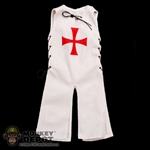Robe: Coo Models Sleeveless White Robe w/Crusade Symbol