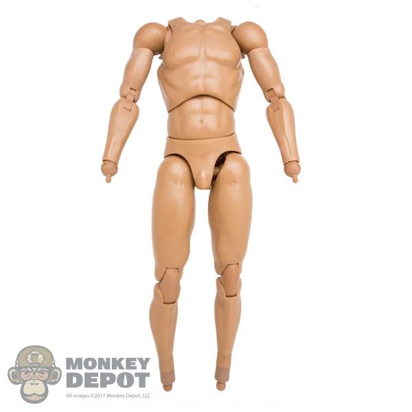 Monkey Depot - Figure: DamToys Ada Nude Body w/Wrist Pegs