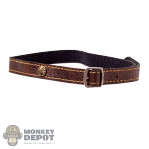 Belt: Coo Models Extra Long Male Leather Belt w/Stamp