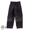Pants: Coo Models Mens Black Pants w/Slight Weathering