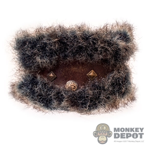 Belt: Coo Models Mens Belt w/Fur