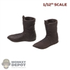 Boots: Coo Models 1/12th Mens Molded Leather Boots