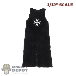 Robe: Coo Models 1/12th Mens Sleeveless Hospitaller Knight Robe