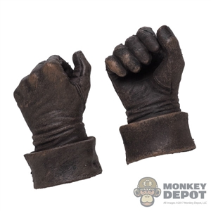 Hands: Coo Models Mens Brown Molded Holding Grip