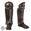 Boots: Coo Models Mens Molded Shoes w/Leg Armor (Metal)