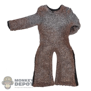 Shirt: Coo Models Realistic Chainmail Top (Longer) (Weathered)