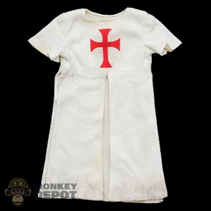 Robe: Coo Models White Templar Robe (Weathered)