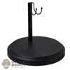 Stand: Coo Models Black Round Figure Stand (Scuffed)