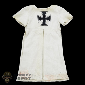 Robe: Coo Models White Teutonic Robe (Weathered)
