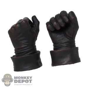 Hands: Coo Models Mens Dark Brown Molded Holding Grip