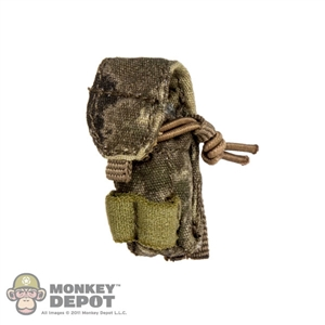 Pouch: CalTek 5.56 Double Mag Pouch In A-TACS Camo