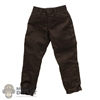 Pants: CYYToys Dark Green Mens Trousers