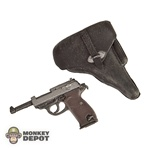 Pistol Dragon German WWII Walther P38 BLACK Holster NEW PATTERN