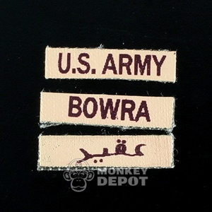 Insignia Dragon US Bowra Name Tapes Desert