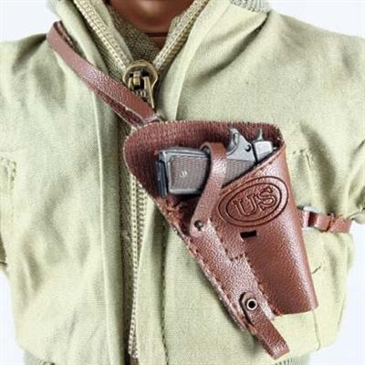 Pistol: Dragon US WWII 1911  45 in Leatherlike Shoulder Holster Single  Harness
