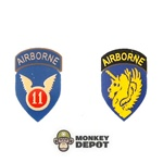 Insignia: Dragon US WWII 11th and 13th Airborne (Iron On)