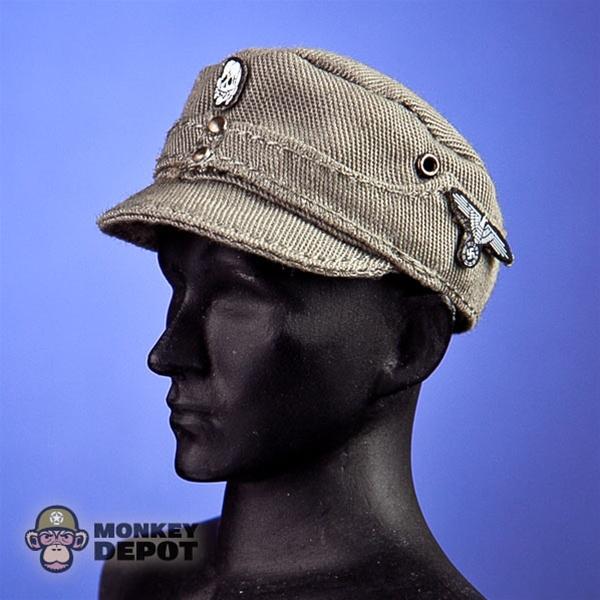 Hat: Dragon German WWII M43 SS Gray W/Insignia