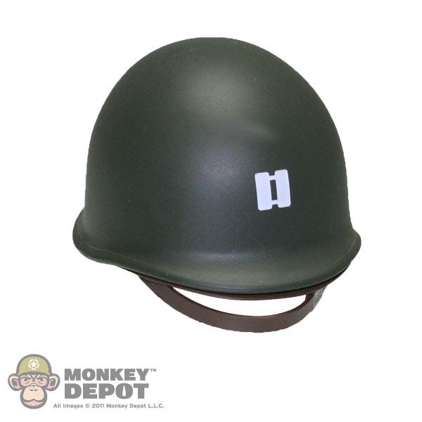 Helmet: Dragon US WWII M1 Captain Marked (Plastic)