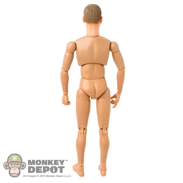 Schmale Schulter 1/6 Action Figur nackt männlichen Körper