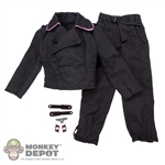 Uniform: Dragon German WWII Panzer Second Pattern Pink Piped w/Insignia
