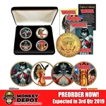Coin Set: Dynamite Entertainment Vampirella 50th Anniversary 24kt Gold Coin Set (904841)