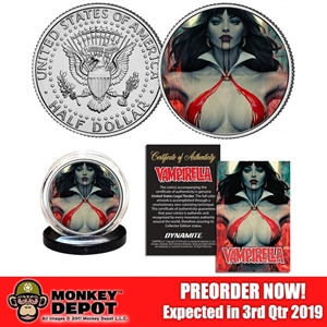 Coin Set: Dynamite Entertainment Vampirella 50th Anniversary Coin Set (904851)
