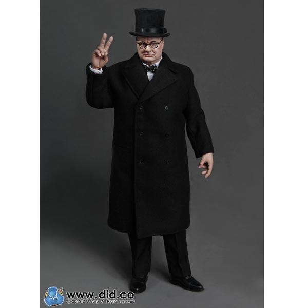 1//6 DID 80090 1//6th WWII British Prime Minister Winston Churchill Figure Model