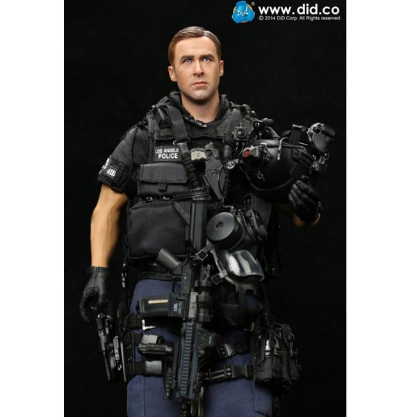 NEW in Box SWAT Headset DID Action Figures 1//6 Scale