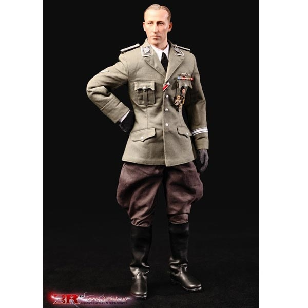 Monkey Depot - Boxed Figure 3R Ss - Obergruppenfuhrer - Heydrich Gm633-9528