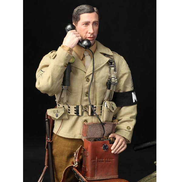 DID Boots WWII 2nd ARMORED DIVISION MP BRYAN 1//6 ACTION FIGURE TOYS