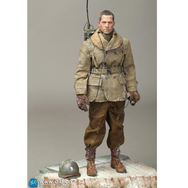 Paul Radio Operator Christmas 1//6 Scale DID Figures Canteen /& First Aid