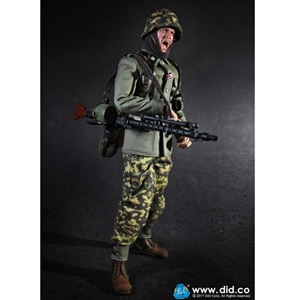 Boxed Figure: DiD 3rd Division MG34 Gunner - Alois (80124))
