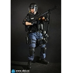 Boxed Figure: DiD LAPD Special Weapons & Tactics 3.0 - Takeshi Yamada (MA1008)