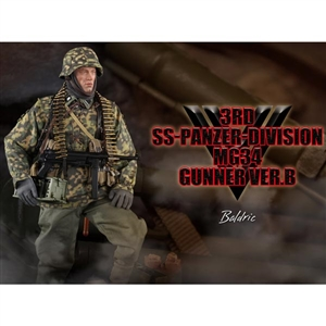 Boxed Figure: DiD 3rd SS-Panzer-Division MG34 Gunner Version B - Bladric (80125)