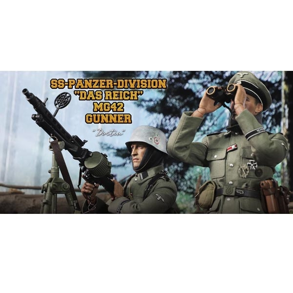 Dustin DID 1//6th Scale WW2 German Infantry Leather Y Straps