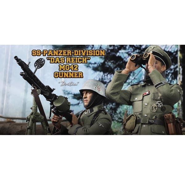 DID Uniform WWII GERMAN PANZER DIV MG42 GUNNER DUSTIN 1//6 ACTION FIGURE TOYS