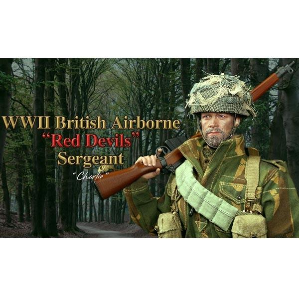 Red Devils Sargent-Bracelet Montre A 1//6 Scale-DID Action Figures Charlie
