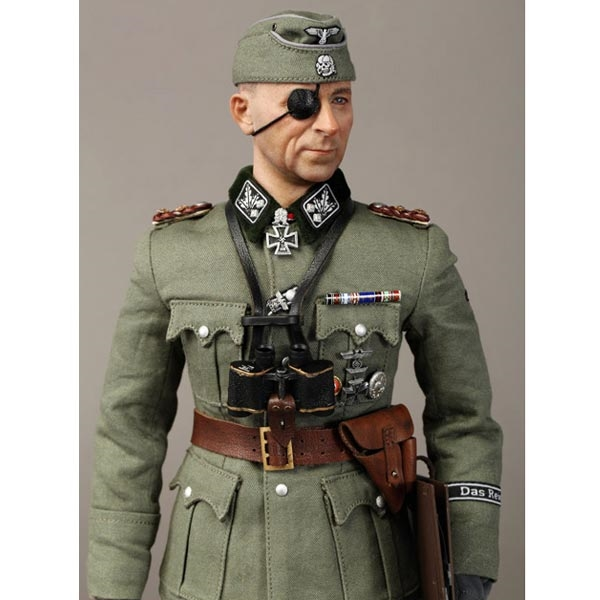 1//6 DID 3R German Paul Hausser WW2 WAFFEN-SS DAS-REICH COMMANDER Boots