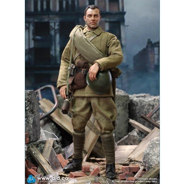 DID 80139 1//6 WWII USSR Battle of Stalingrad 1942 Vasily Zaytsev Leather Belt
