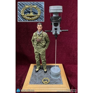 Display: DiD WWII German U-Boat Periscope Diorama Set (60058)