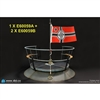 Display: DiD 1/6 U-Boat Conning Tower Gun Deck Diorama Set (2 Options)