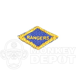 Insignia DiD US WWII Ranger Diamond Patch