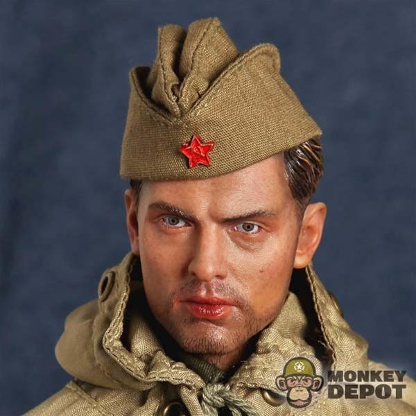 Monkey Depot - Hat  DiD Russian WWII M35 Pilotka Side Cap f1526523af8