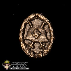 Medal: DiD German WWII Wound Badge in Bronze