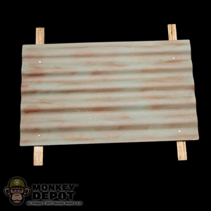 Tool: DiD Corrugated Iron w/ Wooden Batten (Metal)